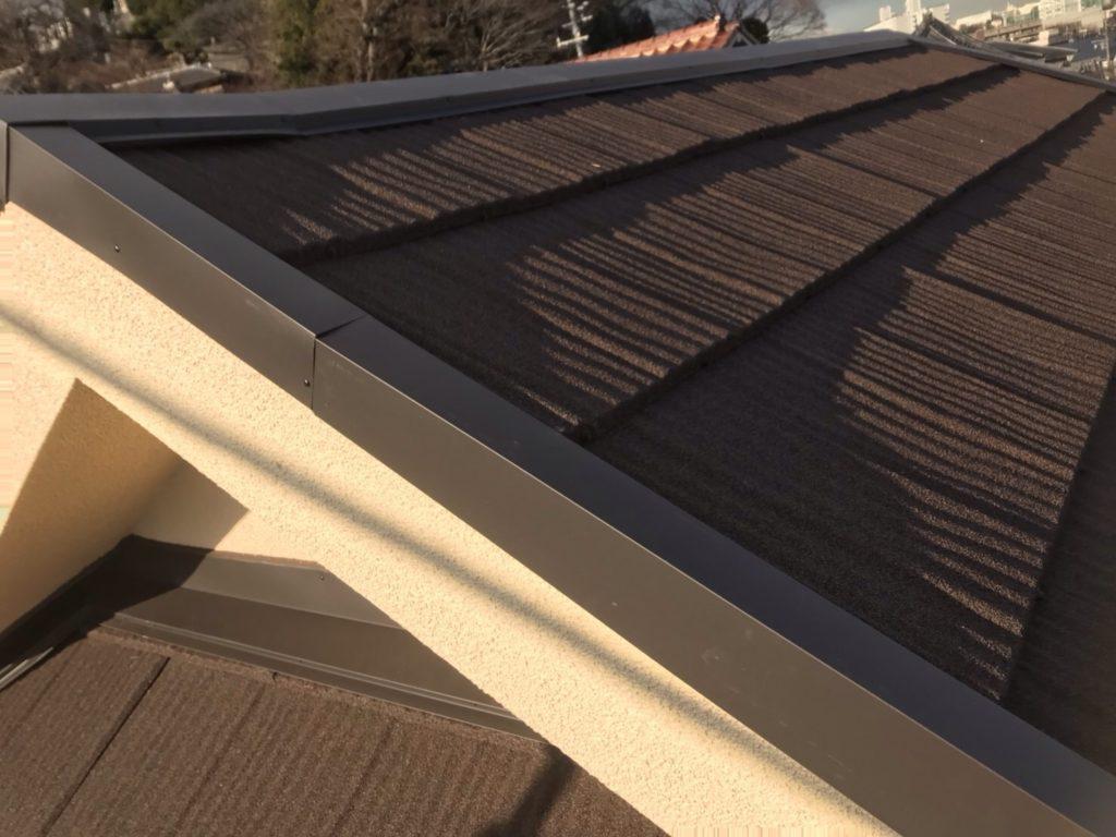 ジンカリウム鋼板屋根