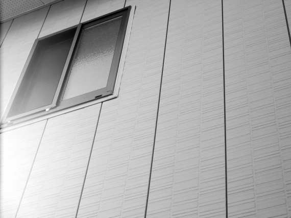 金属の外壁材