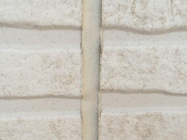 サイディング壁のコーキング