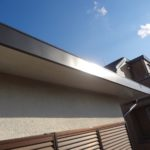 破風板金工事の施工