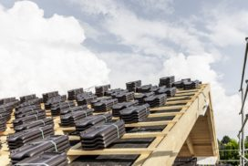 瓦屋根の葺き替え