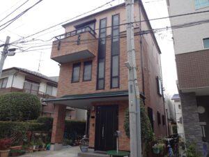 川崎市中原区S様邸|外壁