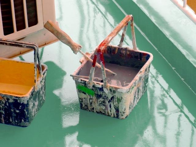 ベランダの防水による補修