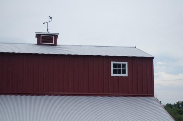 波トタン屋根