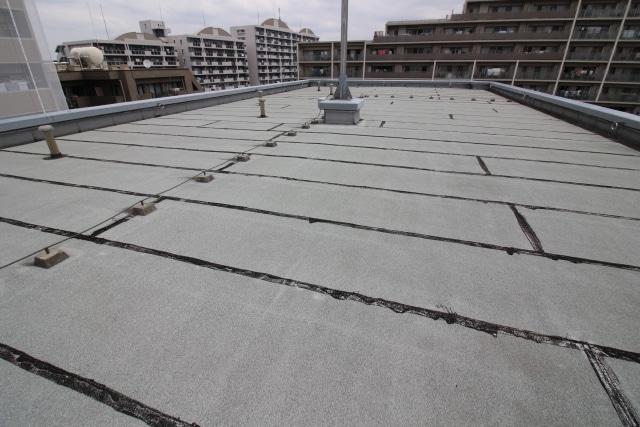 屋上防水の仕上がり