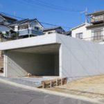 掘り込み式車庫