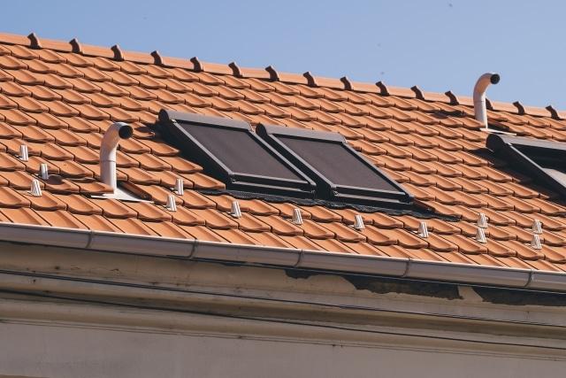 天窓付きの屋根