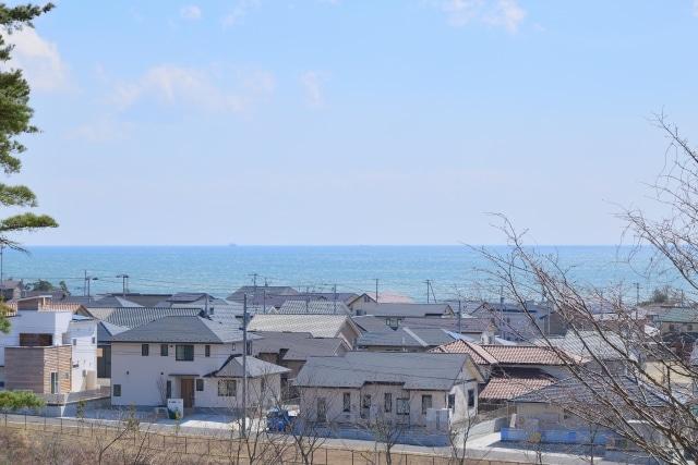 海沿いの地域
