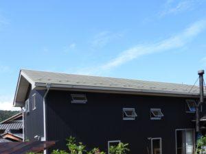 屋根と外壁の外観