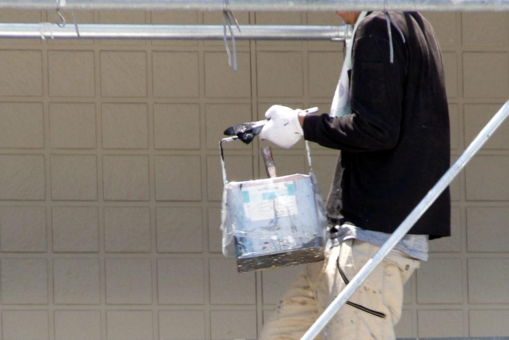 軽量気泡コンクリートの塗装