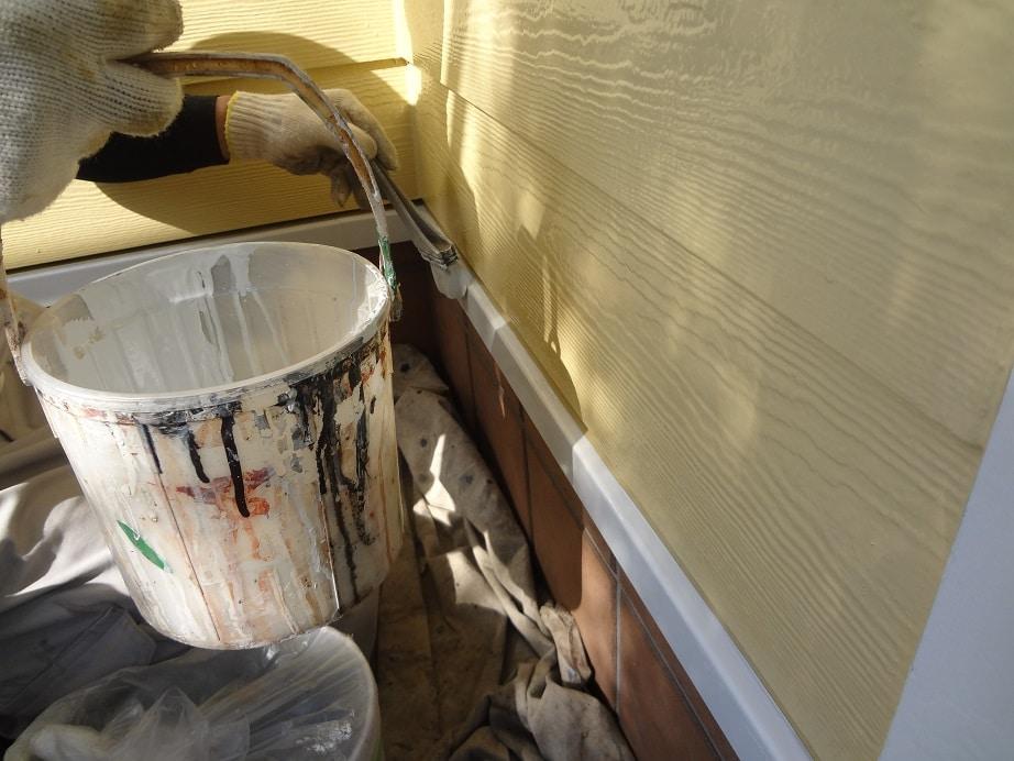 水切りの塗装