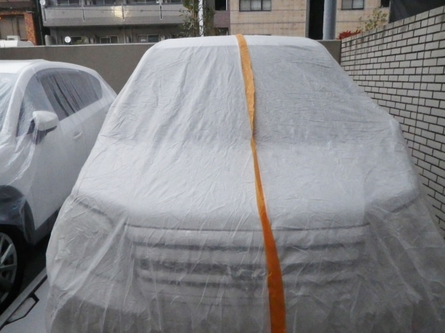 車の保護シート