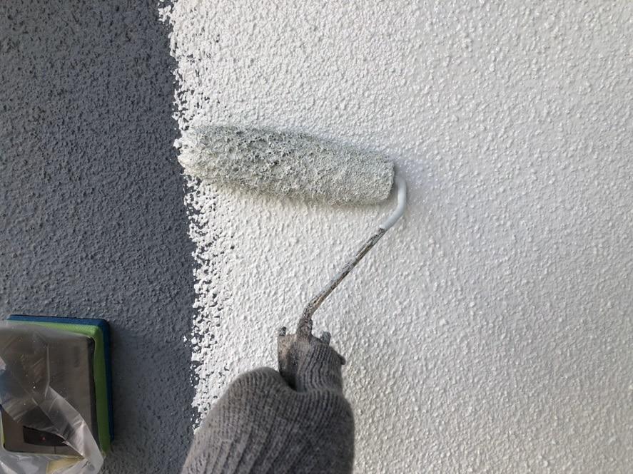 リシン壁塗装