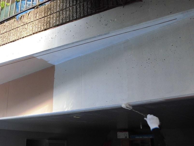 コンクリート下塗り