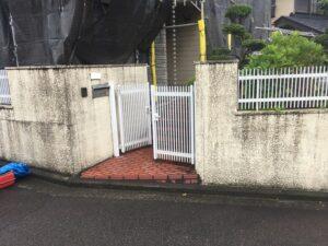 門塀施工前