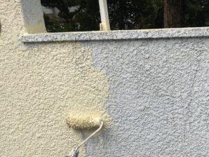 門塀中塗り